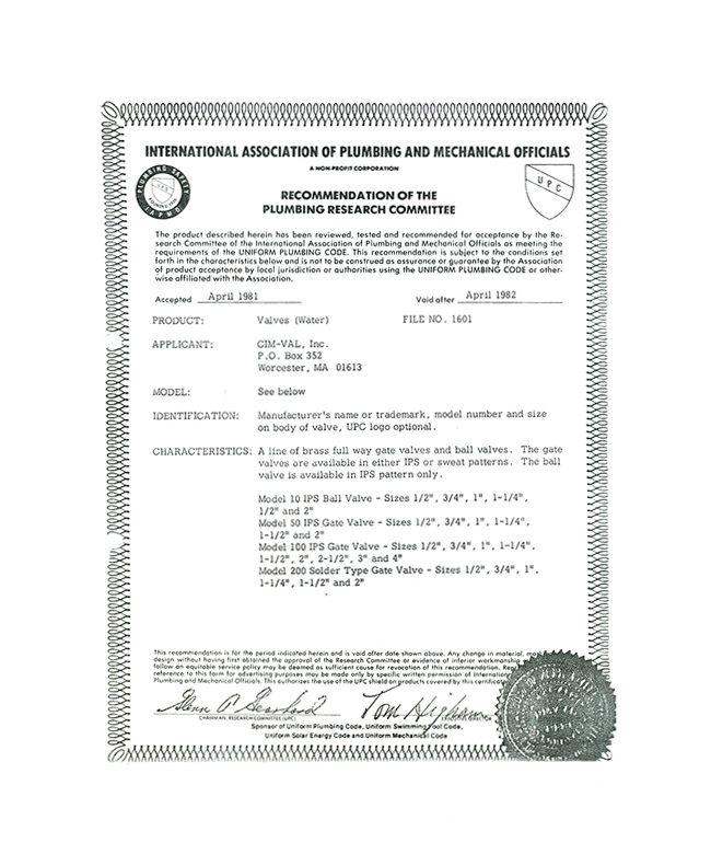 Le certificazioni